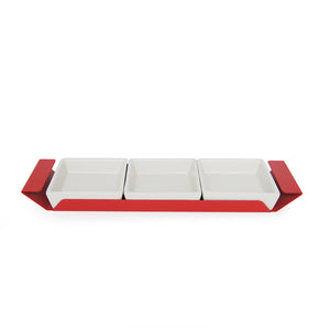 Polar 3 Condiment Tray Red