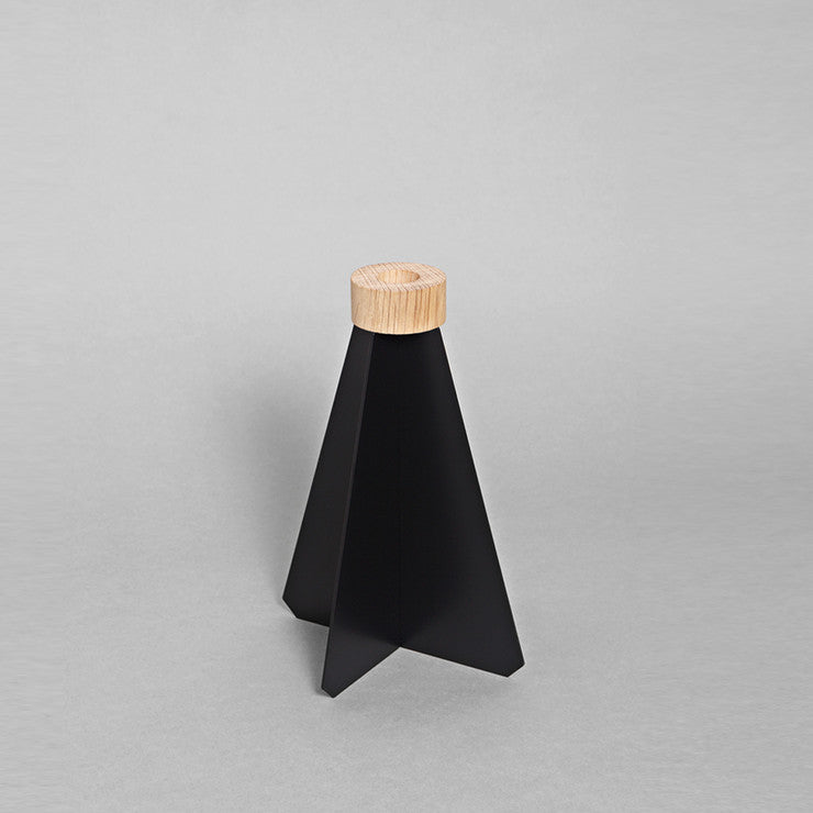 K1 Candlestick Holder Black