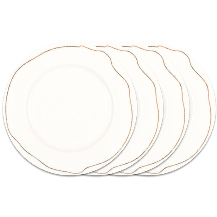 Chain Plates Large Set Of 4