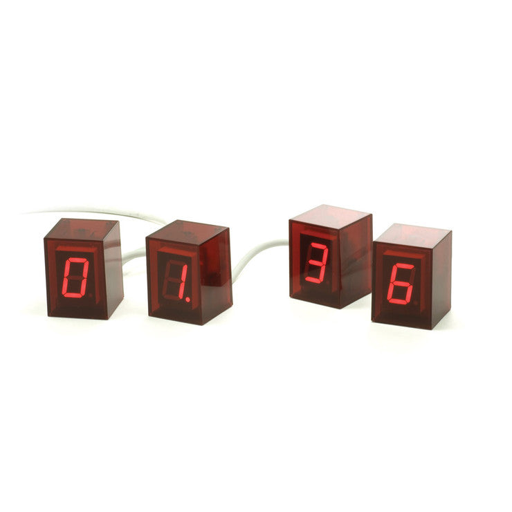 Clock Red LED