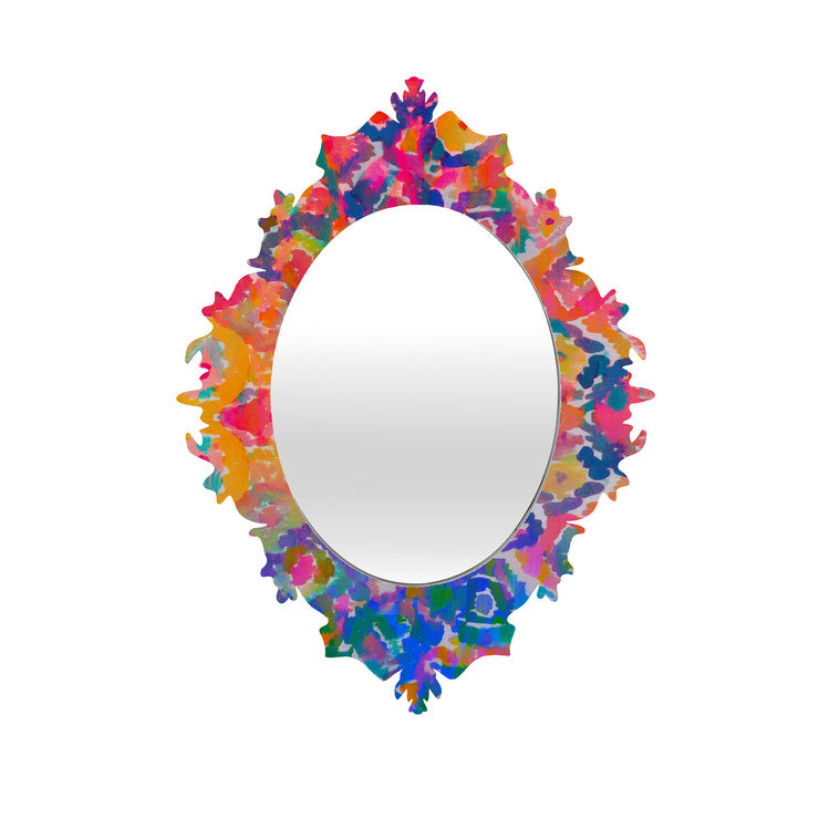 Watercolour Baroque Mirror Sm