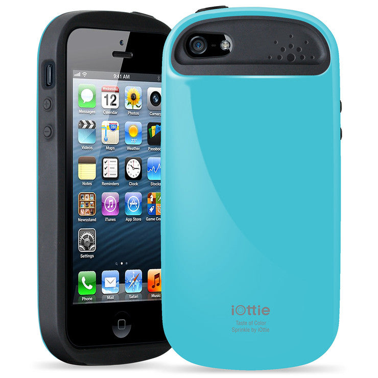 iPhone 5/5S Sprinkle Case Blue
