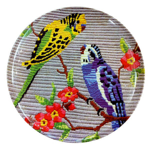 Budgie Plate