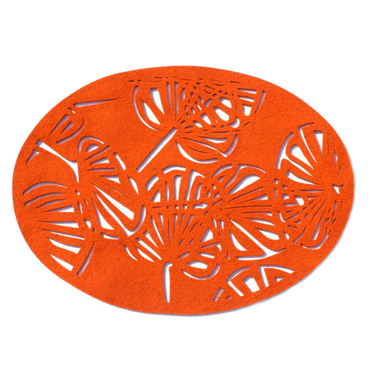 Float Oval Tangerine