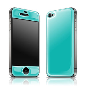 iPhone 4/4S Glow Gel Teal