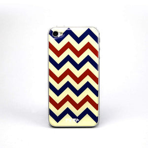 iPhone 4/4S Gel Skin Chevron