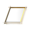 Parallelogram Mirror Yellow