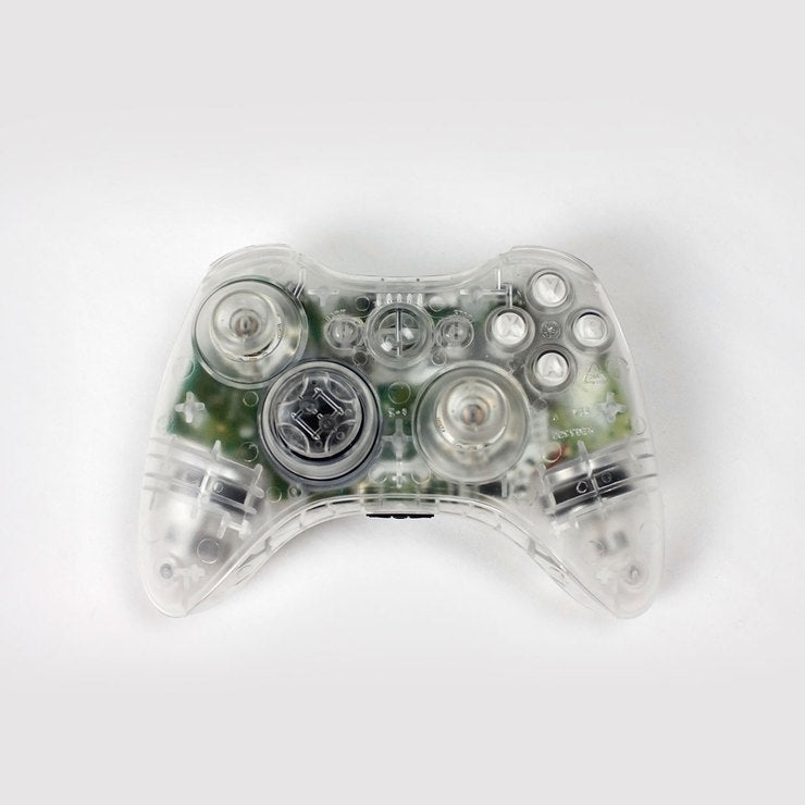 Clear Xbox 360 Controller