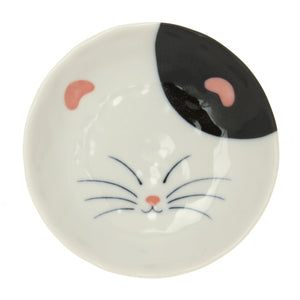 Cat Plate 4.8\ Set Of 4""