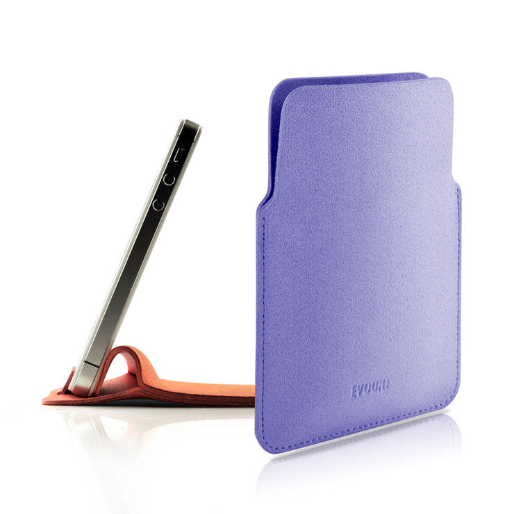 iPhone 4 Stand Pouch Purple