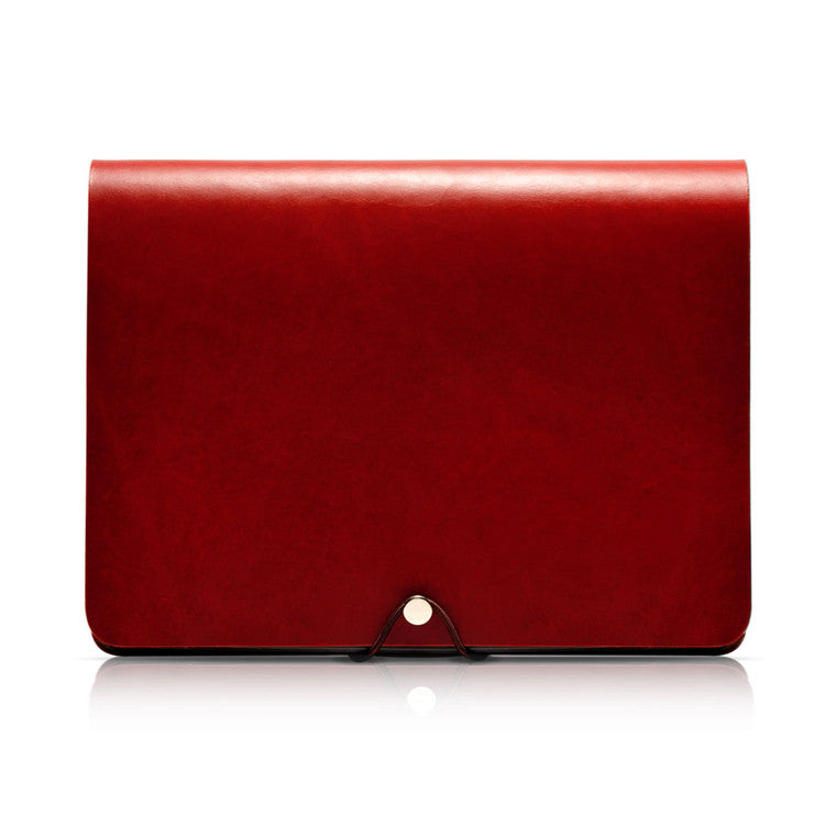 iPad 2/3/4 Leather Cover Claret