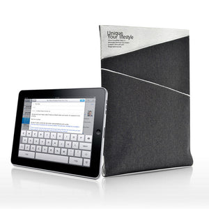 iPad 2/3/4 Denim Case Gray