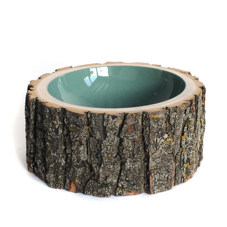 Log Bowl Large Pale Sage