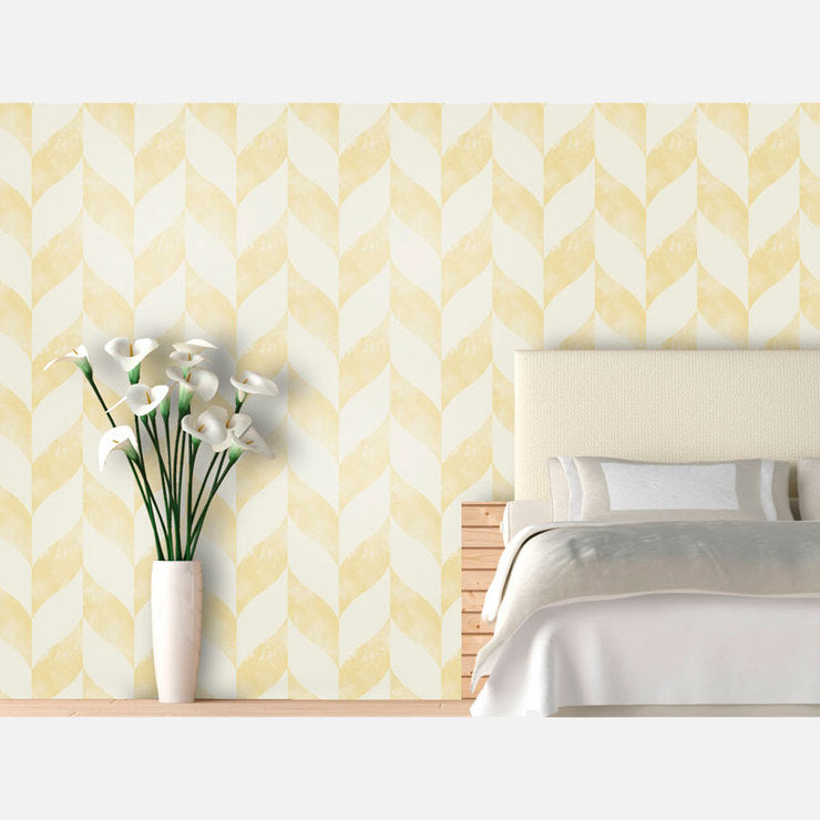 Distressed Chevron 9'5x2'2 Daisy