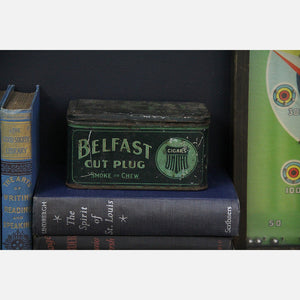 Belfast Cut Plug Cigar Tin