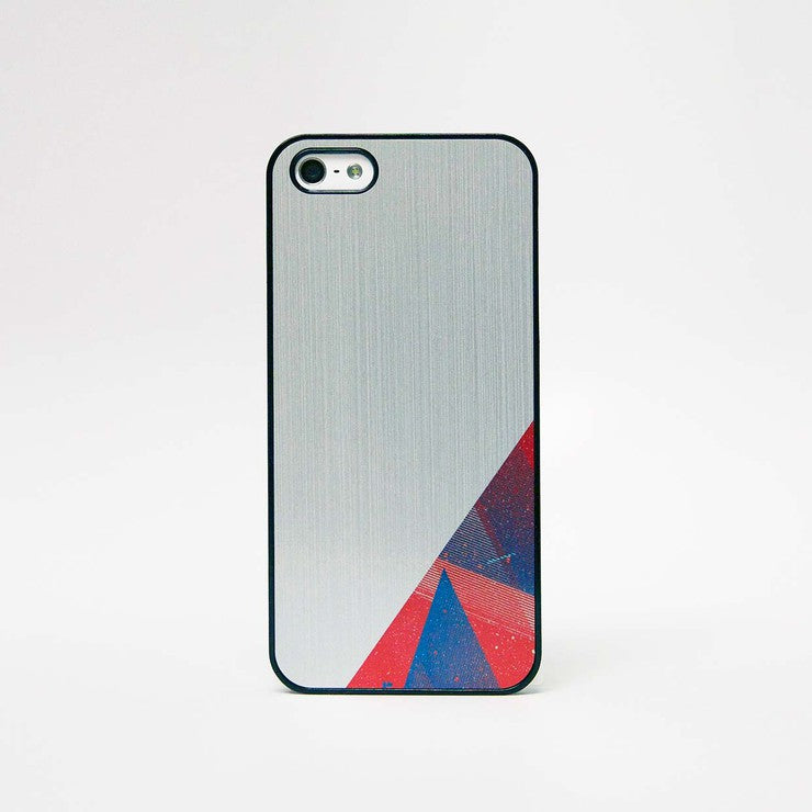 iPhone 5 Case Geo Block 1 Silver