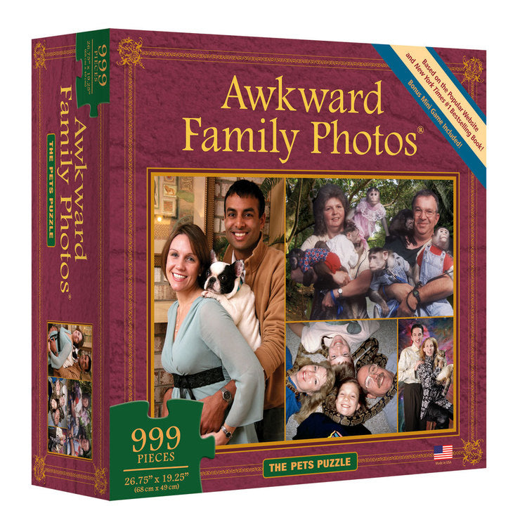 Awkward Family Pets Puzzle