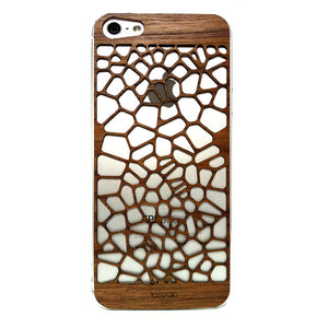 iPhone 5 Cover V1 Walnut