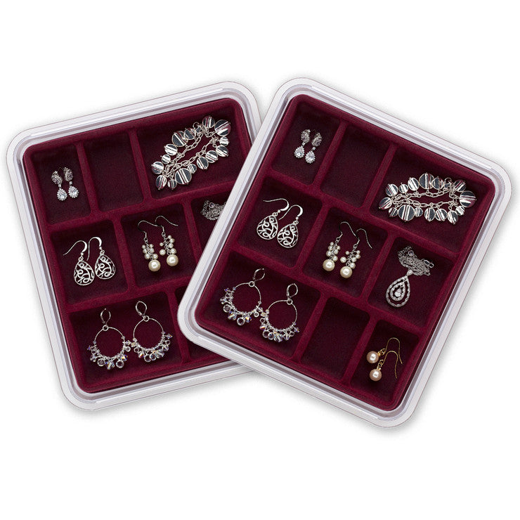 Jewelry Stax 9-Space Set Of 2