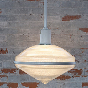 Holophane Pendant Light - Saucer