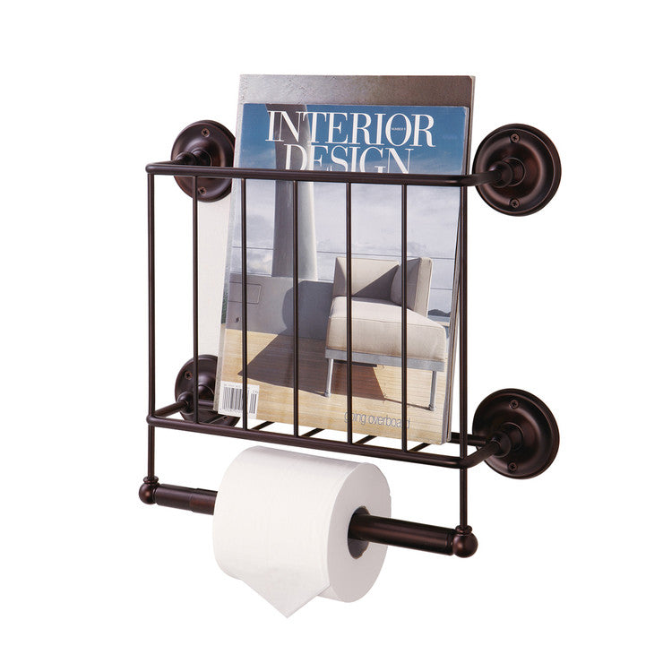 Estate Magazine Rack Bronze