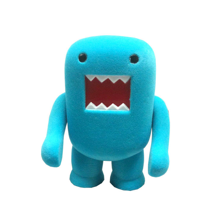 Domo 4\ Vinyl Flocked Blue""