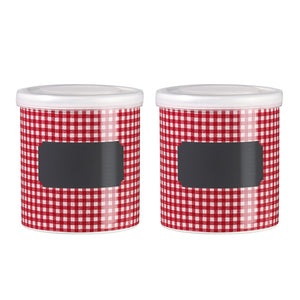 GRAND-MERE Jar Small Red Set