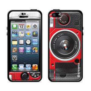 Cushi Plus iPhone 5 Camera Red