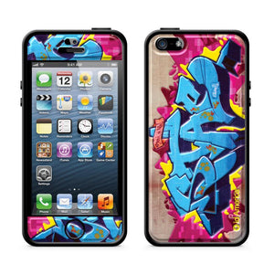 Cushi Plus iPhone 5 Graffiti Blu