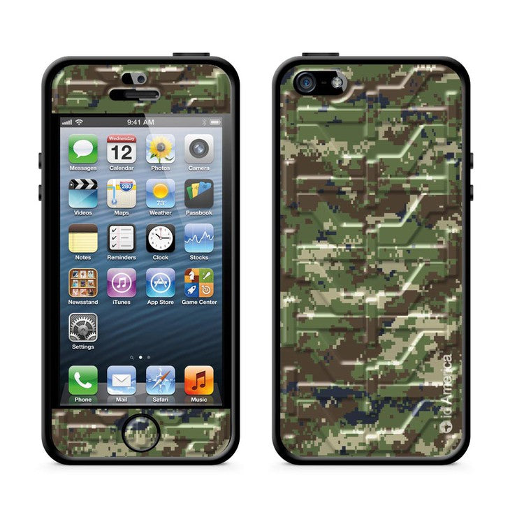 Cushi Plus iPhone 5 Camo Green