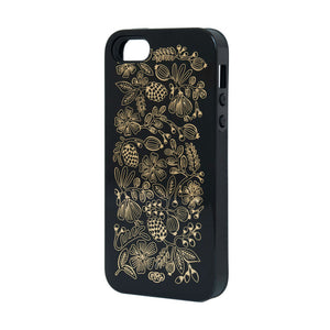 Golden Bouquet iPhone 5 Black