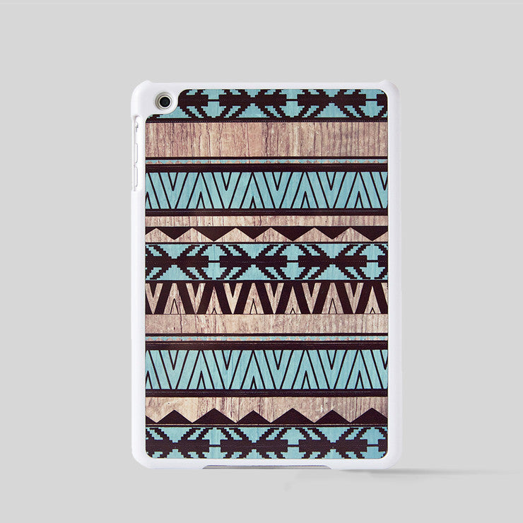 iPad mini Case Geometric Mint