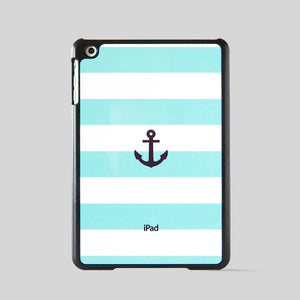 iPad mini Case Blu Stripe Anchor
