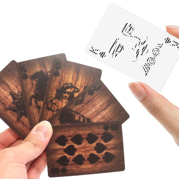 See-Through And Wood Cards