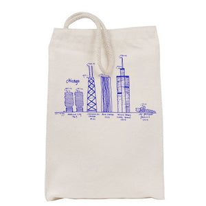Chicago Buildings Lunch Bag