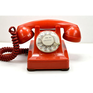 302 Desk Phone Pekin Red