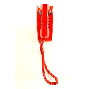 2554 Wall Phone Red