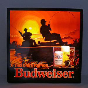 Budweiser Light Up Display