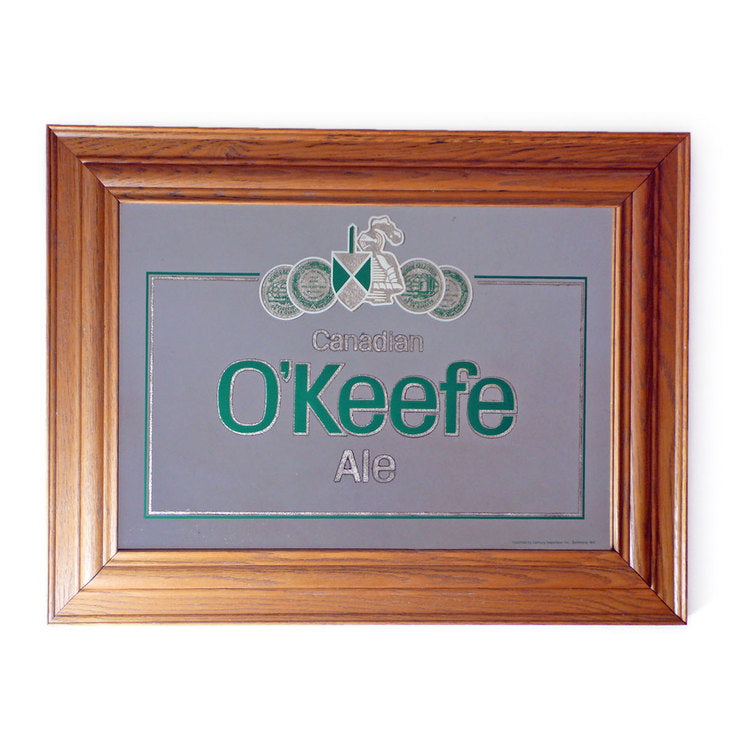 Canadian O'Keefe Ale Mirror