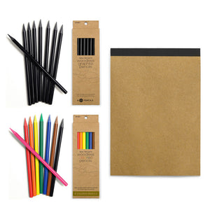 Pencil And Sketch Pad Set