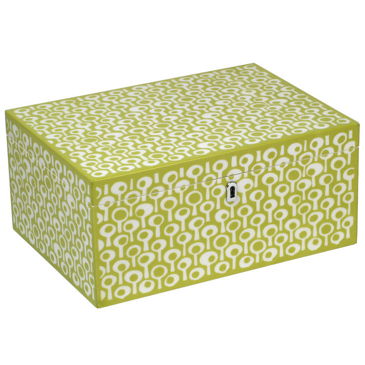 Jewelry Box Lg Green