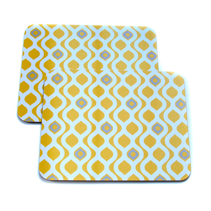 GB Pattern Net Placemat Set Of 2