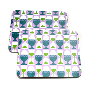 GB Pattern Timer Placemat 2Pc
