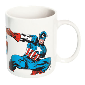 Captain America Ceramic Mug 2Pk