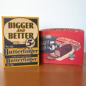 Curtiss Candy Co. Boxes Pair