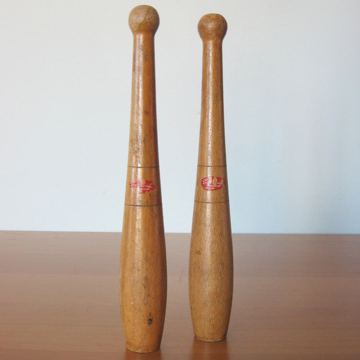 Indian Clubs Pair