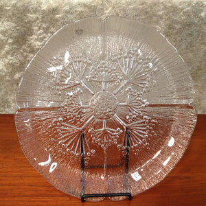 Dansk Textured Glass Plate