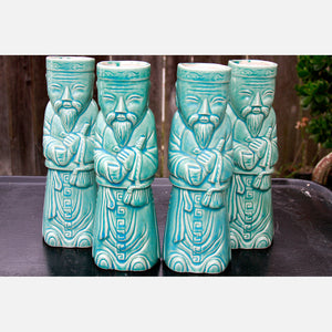 Holiday Inn FiDi Tiki Mugs