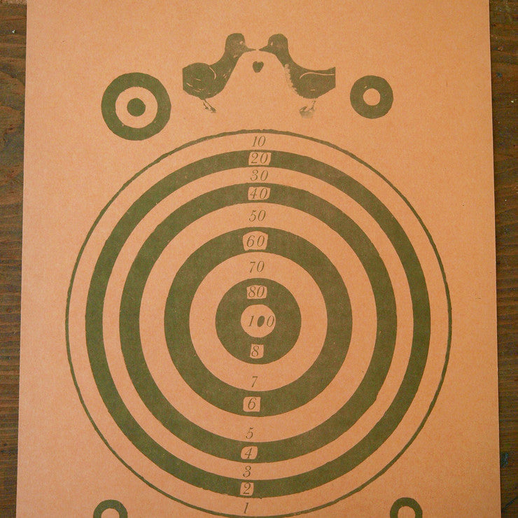 French Shooting Target