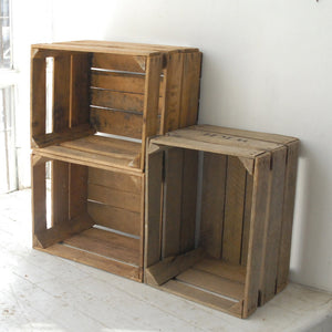 Apple Crates Set Of 3
